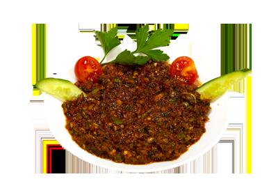 EZME /69,-   Blandning av finhakkede tomater, løk, persille og tomatpurre